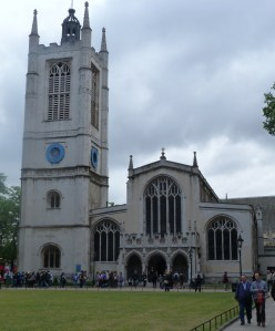 The church of St Margaret, Westminster - where the warden was fined for celebrating Christmas  in 1647