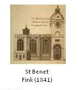 St Benet Fink drawing