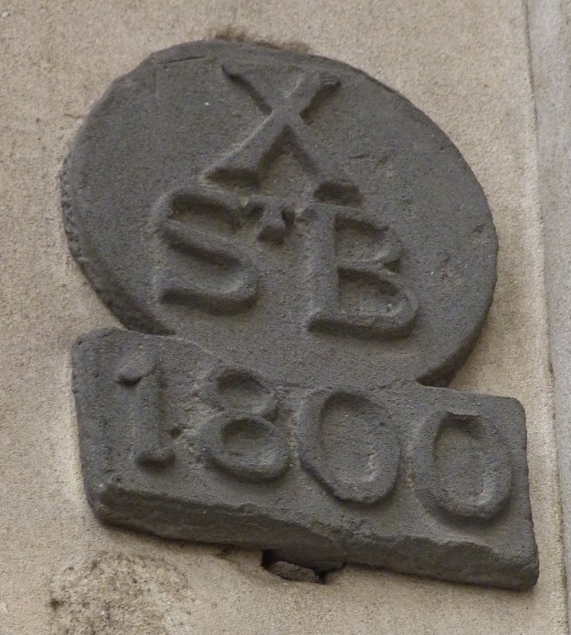 St Bartholomew by the Exchange parish boundary markers