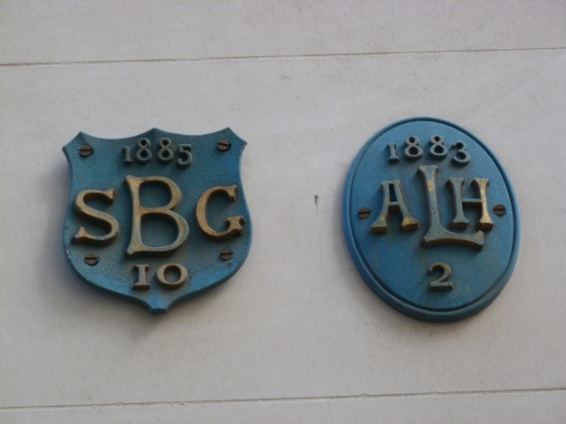 St Benet Gracechurch and All Hallows Lombard Street parish boundary markers