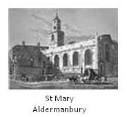 Lost Wren Churches St Mary Aldermanbury