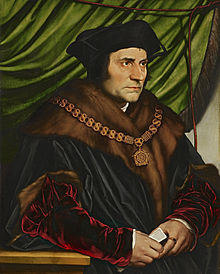 Holbein's portrait of More