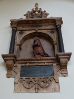 Memorial inside St Bartholomew the Less
