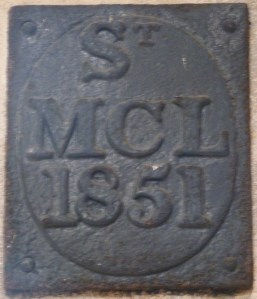 St Michael Crooked Lane parish boundary marker