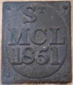 St Michael Crooked Lane parish boundary marker