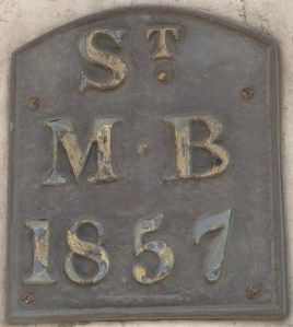 St Mildred Bread Street parish boundary marker
