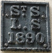St Swithin London Stone parish boundary marker
