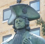 closeup statue-of-peter-the-great-and-friend-deptford