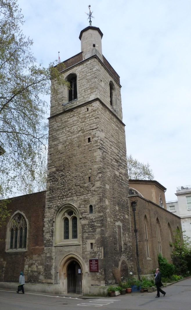 Tower of St Bartholomew the Less