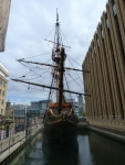 Bow (Golden Hinde reconstruction)