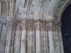 Detail of Norman doorway