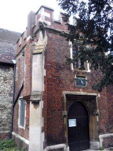 Fifteenth-century brick porch