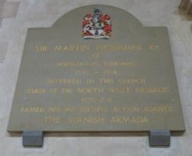 Frobisher memorial