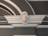 Decorative mouldings, Entrance Hall