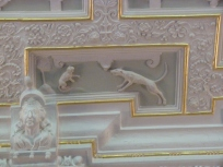 Detail of ceiling panel, Drawing Room