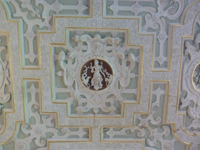 Detail of one of elements ceiling panels, Drawing Room