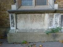 Al Saints - Seventeenth-century tomb