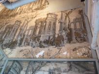 Seventeenth-century wallpaper, Stairwell
