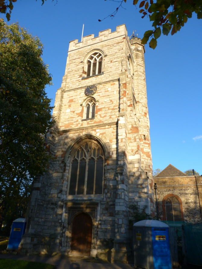 All saints - Tower