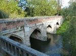 Bridge over moat