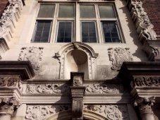Detail above doorway