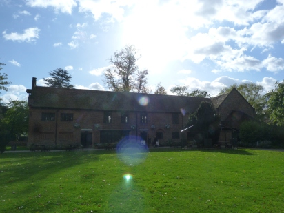 Front view of Tudor Barn
