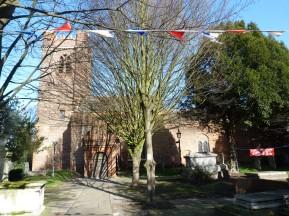 General view of St Luke Church
