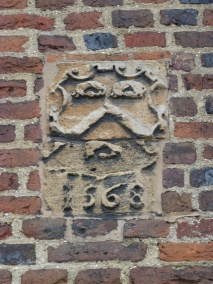Plaque bearing date of 1568