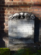 Seventeenth-century burials at St Luke's