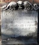 Cropped Seventeenth-century burials