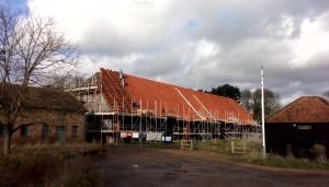 Great Barn (under restoration)
