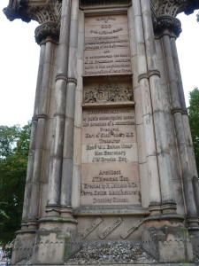 Memorial to Protestant martyrs in Stratford