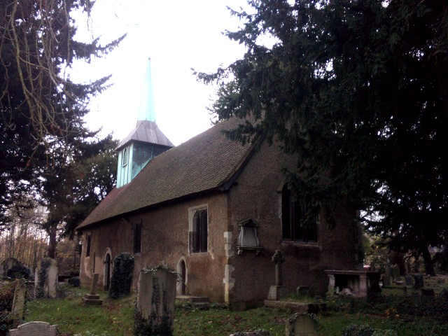 General view of old church