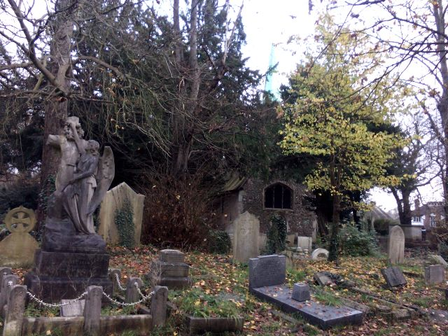 Graveyard of old church