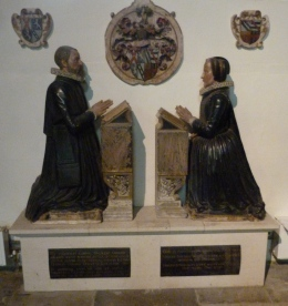 Memorial to William Gerard (d. 1609) and his sister Dorothy