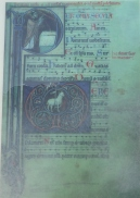 Page from surviving thirteenth-century Abbey Missal