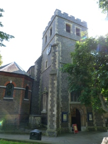 Tower and porch