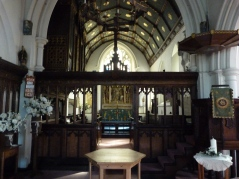Fifteenth-century rood-screen