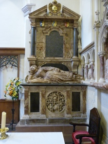 Tomb of Leonora Bennet (d. 1638)