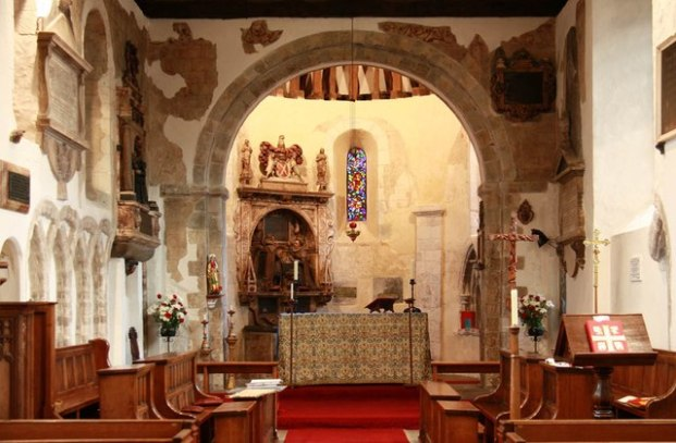 Chancel and apse