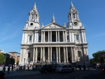 1 - The west front of St Paul's