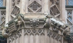 5 - Wonderful grotesques on Henry VII's early sixteenth-century Lady Chapel - Copy