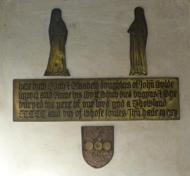8 - John Wylde memorial (d. 1508)