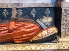 10 - Detail of memorial to Sir Anthony Benn
