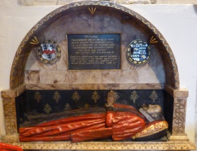 9 - Post-Medieval memorial to Sir Anthony Benn