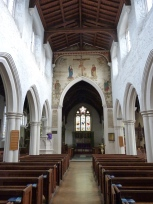1 - General view of nave looking towards altar