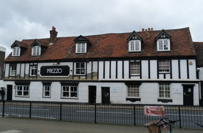 11 - An old building, once the King's Head, now a Prezzo