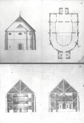 2 - Inigo Jones's designs for the Cockpit Theatre