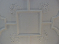 4 - Dated ceiling panel, Great Chamber