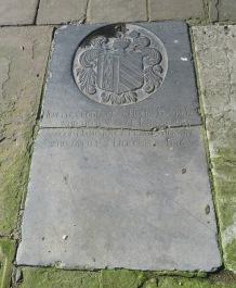 4 - Seventeenth-century grave in churchyard